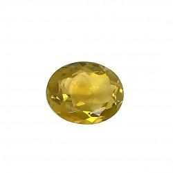 Olive Quartz 7.72 Ct Certified