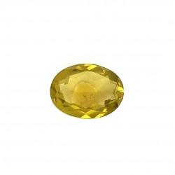 Olive Quartz 5.58 Ct Good Quality