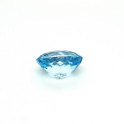 Blue Topaz 17.64 Ct Certified