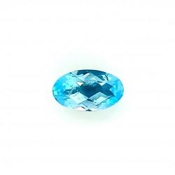 Blue Topaz 5.08 Ct Certified