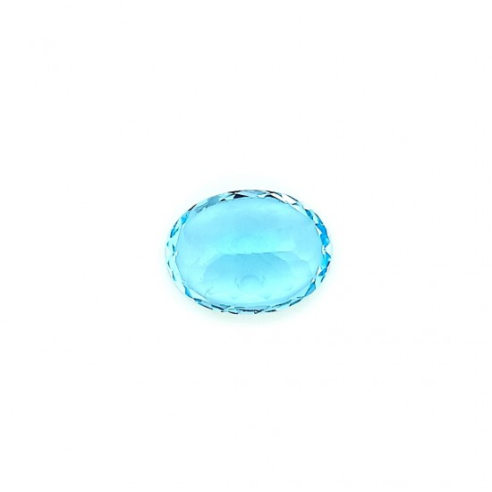 Blue Topaz 12.1 Ct Good Quality