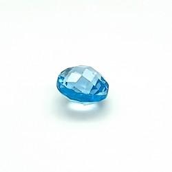 Blue Topaz 7.03 Ct Certified