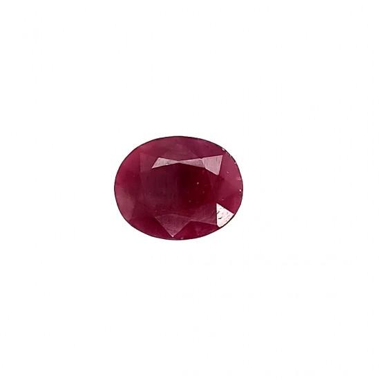African Ruby (Manik) 6.02 Ct Certified
