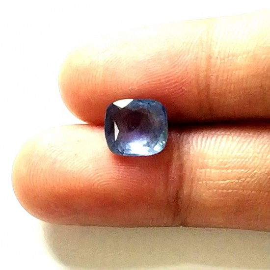 Blue Sapphire (Neelam) 3.51 Ct Lab Tested
