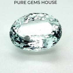 Aquamarine  9.07 Ct Gem quality