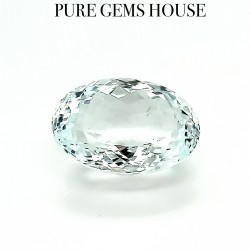 Aquamarine  10.21 Ct Certified