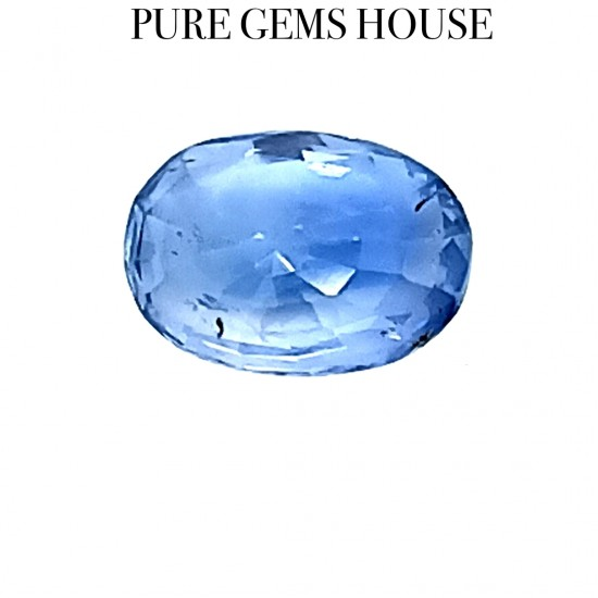 Blue Sapphire (Neelam) 4.03 Ct Certified