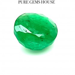 Emerald (Panna) 4.10 Ct Lab Certified