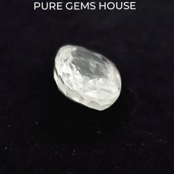 White Sapphire 6.01 Ct