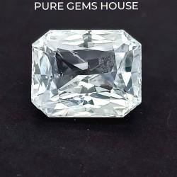 White Sapphire 7.45 Ct