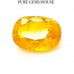 Yellow Sapphire (Pukhraj) 4.28 Ct Natural