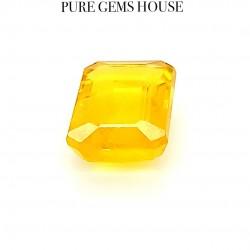 Yellow Sapphire (Pukhraj) 4.15 Ct Good quality