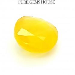 Yellow Sapphire (Pukhraj) 4.59 Ct Certified