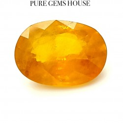 Yellow Sapphire (Pukhraj) 8.07 Ct Good quality