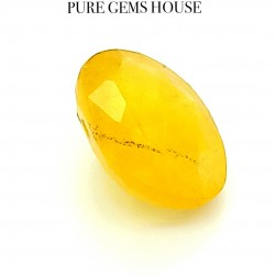 Yellow Sapphire (Pukhraj) 4.51 Ct Lab Certified