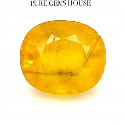 Yellow Sapphire (Pukhraj) 4.58 Ct Original