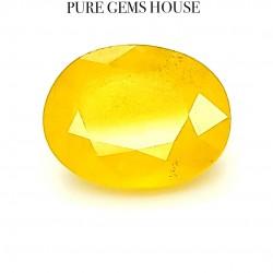 Yellow Sapphire (Pukhraj) 5.49 Ct Good quality