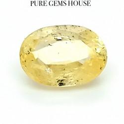 Yellow Sapphire (Pukhraj) 4.11 Ct