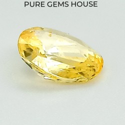 Yellow Sapphire (Pukhraj) 2.99 Ct