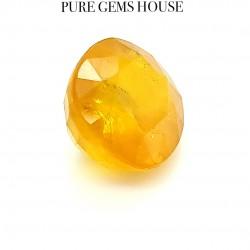 Yellow Sapphire (Pukhraj) 9.62 Ct Good quality