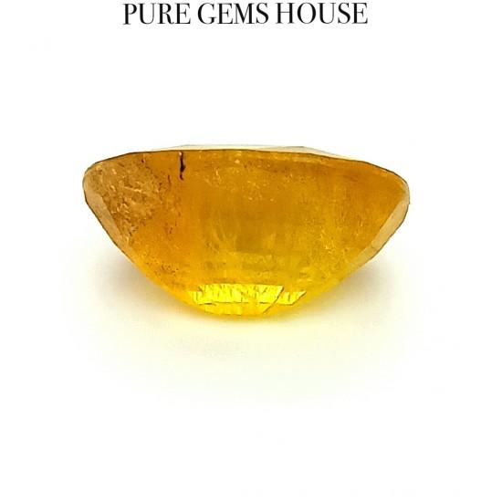Yellow Sapphire (Pukhraj) 10.19 Ct Lab Tested