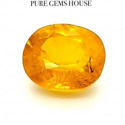 Yellow Sapphire (Pukhraj) 7.86 Ct Best Quality