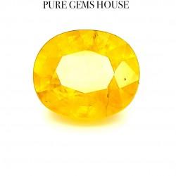 Yellow Sapphire (Pukhraj) 8.69 Ct Natural