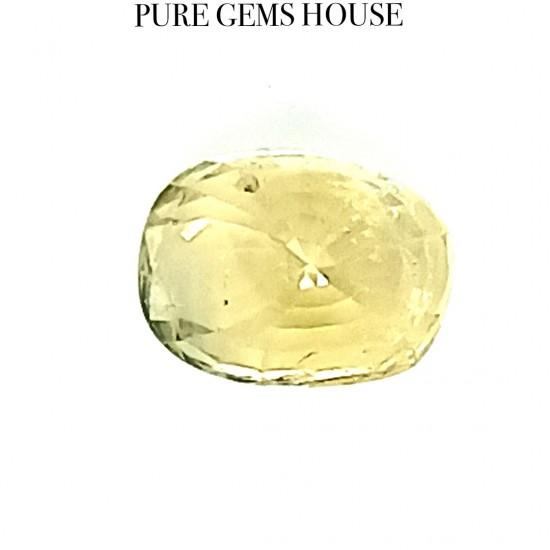 Yellow Sapphire (Pukhraj) 5.02 Ct Best quality