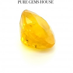 Yellow Sapphire (Pukhraj) 6.61 Ct Lab Certified
