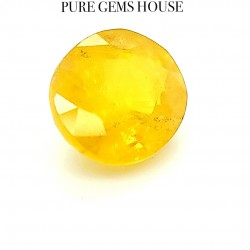 Yellow Sapphire (Pukhraj) 6.45 Ct Lab Certified