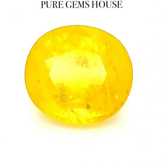 Yellow Sapphire (Pukhraj) 8.41 Ct Original
