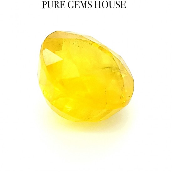 Yellow Sapphire (Pukhraj) 9.28 Ct Natural