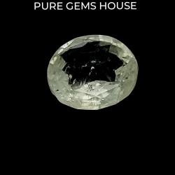 White Sapphire 4.65 Ct Gem quality