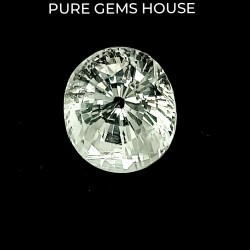 White Sapphire 5.52 Ct Best quality