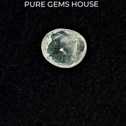 White Sapphire 5.44 Ct Gem quality